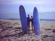 Surfing with my Niece, Danielle